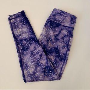Old Navy Purple Galaxy Leggings
